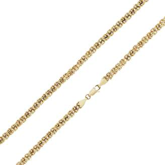 Revere 9ct Gold Fancy Chain 18in Necklace