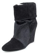 Plomo Dominique Women Pointed Toe Suede Ankle Boot.
