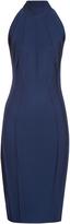 Thierry Mugler High-neck sleeveless dress