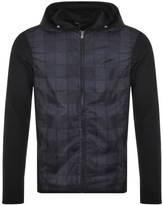 Aquascutum London Harold Jersey Jacket Navy