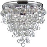 Crystorama Calypso Three-Light Ceiling Light