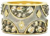 Freida Rothman Rose d'Or Pave Band Ring