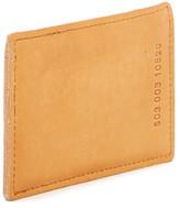 Shinola Simple Leather Card Case