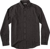 RVCA Men's That'll Do Static Long Sleeve Woven Shirt