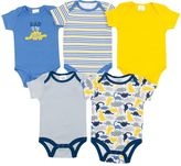 Baby Gear Baby Boy 5-pk. Print Grow-With-Me Bodysuits