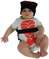 Sozo Sushi Bodysuit and Cap Set, Multicolor