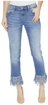 Mavi Jeans Kerry Ankle Mid-Rise Straight in Distressed Vintage Women's Jeans