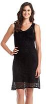 Chaus Sleeveless Pointelle Dress