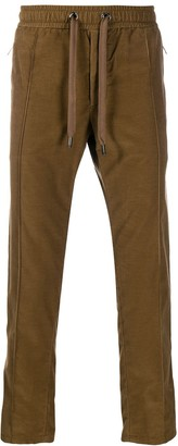Dolce & Gabbana Corduroy Track Pants