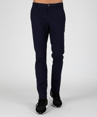 Atm Stretch Cotton Garment Wash Slim Pants - Midnight