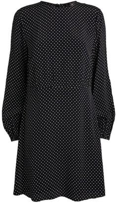 Theory Long-Sleeved Mini Dress
