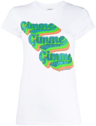 P.A.R.O.S.H. Gimme embellished T-shirt