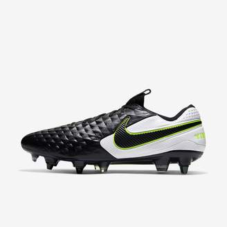 Nike Soft-Ground Soccer Cleat Tiempo Legend 8 Elite SG-PRO Anti-Clog Traction