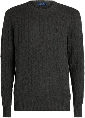 Ralph Lauren Wool-Cashmere Cable-Knit Sweater