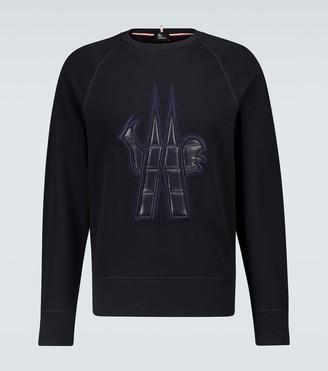MONCLER GRENOBLE Crewneck sweatshirt with logo