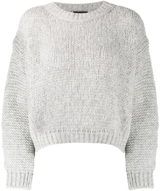 Roberto Collina Drop-Shoulder Chunky Sweater