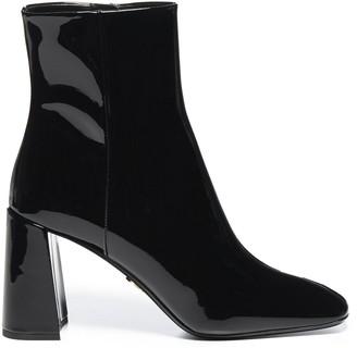 Prada Block Heel Boots