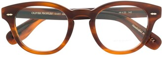 Oliver Peoples Cary Grant round glasses