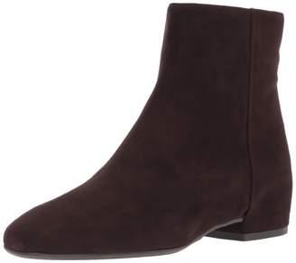 Aquatalia Women's ULYSSAA Suede Ankle Boot Espresso 12 M M US