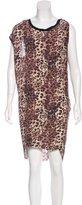 Etoile Isabel Marant Silk Printed Dress