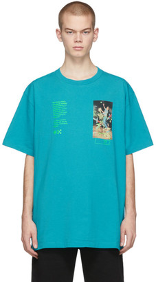 Off-White Blue Pascal Painting Over T-Shirt