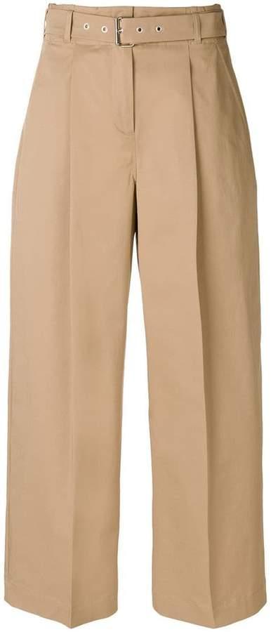 YMC high rise wide leg trousers