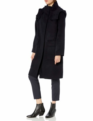 Theory Women's Duffle Coat Df Outerwear