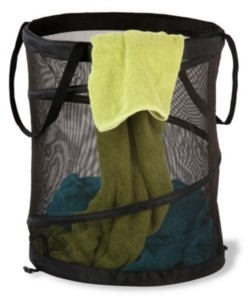 Honey-Can-Do Large Mesh Pop Open Hamper