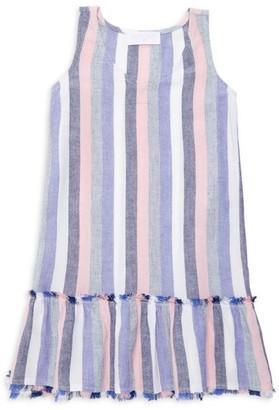 Bella Dahl Little Girl's & Girl's Striped Dropped-Hem Dress