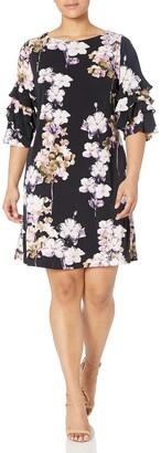 Gabby Skye Women's Plus Size A-Line