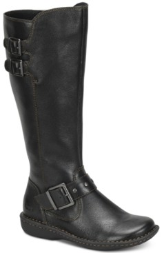 b.ø.c. Oliver Riding Leather Boots Women's Shoes
