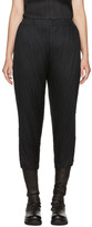 Pleats Please Issey Miyake Black Thicker Bounce Trousers