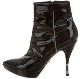 Emilio Pucci Patent Platform Boots