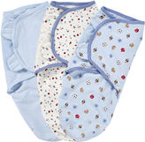 Summer Infant, Inc Summer Infant 3-pk. SwaddleMe Blankets - Blue Sports Dots