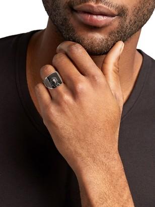 Effy Sterling Silver & Hematite Ring