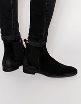 Selected Homme Yannick Suede Chelsea Boots