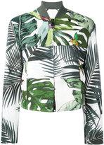 Max Mara Tema printed jacket - women - Cotton/Linen/Flax/Spandex/Elastane - 42