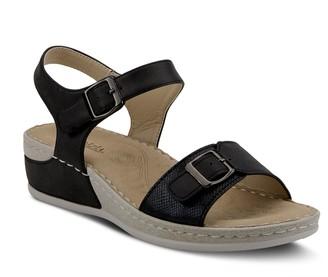 Patrizia by Spring Step Adjustable Wedge Sandals - Kianoga