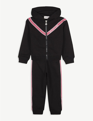Moncler Logo tape cotton-blend tracksuit 4-14 years