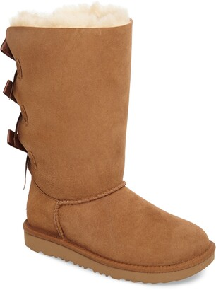 UGG Bailey Bow Tall II Water Resistant Genuine Shearling Boot