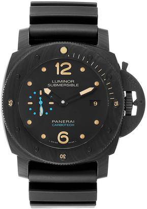 Panerai Black Carbotech And Ceramic Luminor Submersible 1950 PAM00616 Men's Wristwatch 47 MM