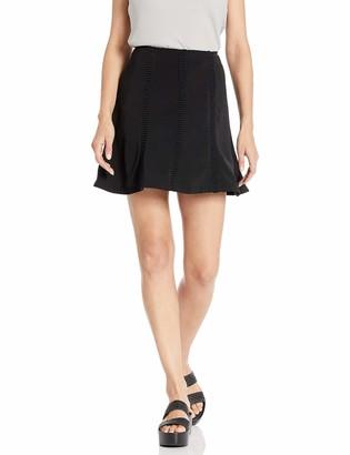 Finders Keepers findersKEEPERS Women's Sangria A-line Short Skirt