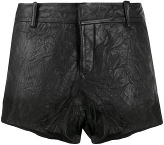 Zadig & Voltaire Crinkled Shorts