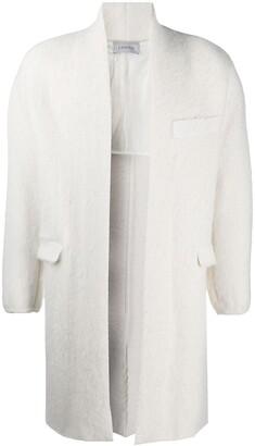 Laneus Long-Sleeve Wool Coat