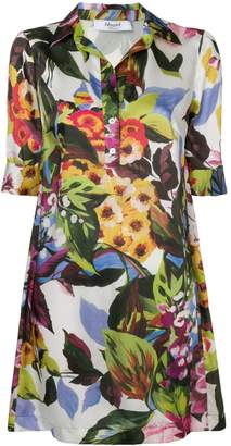Blugirl floral print shirt dress