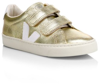 Veja Baby's, LIttle Kid's & Kid's Esplar Metallic Leather Sneakers