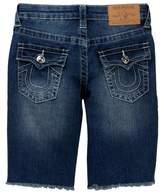 True Religion Slim Single End Denim Shorts (Big Boys)