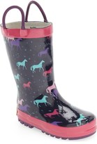 Western Chief 'Cute Horses' Rain Boot (Walker, Toddler, Little Kid & Big Kid)
