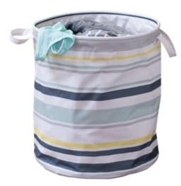 Honey-Can-Do Kids Collection Multi-Stripe Hamper