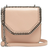 Stella McCartney Falabella tiny faux-leather cross-body box bag